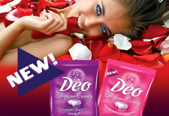 Balas de desodorante