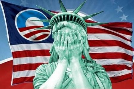 Liberty Statue Shame
