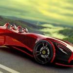 Ferrari Millenio – nova tendência para carro superesportivo elétrico