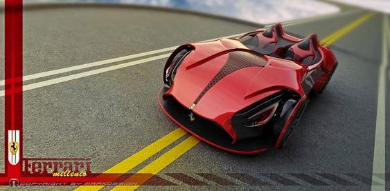 Design - Ferrari Conceito Millenio