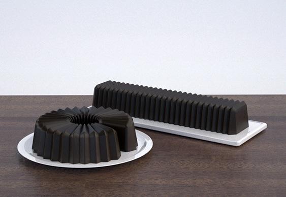 Forma de plástico flexível