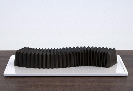 Forma de bolo flexível