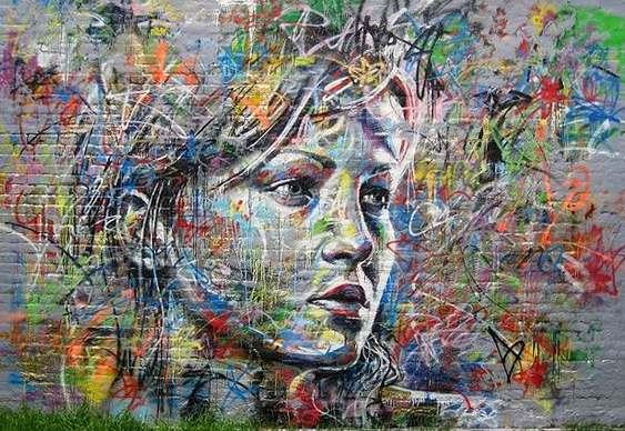 Graffiti Mulher