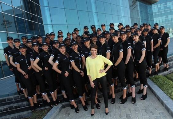 Pit Babes Abu Dhabi GP F1 - 2012