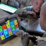 Crianças etíopes analfabetas aprendem a usar tablets sem ajuda
