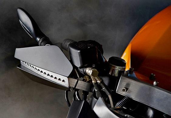 Motocicleta da marca Honda