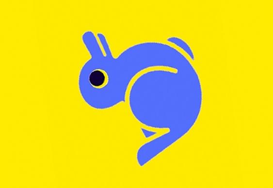 Desenho de Pato e Coelho