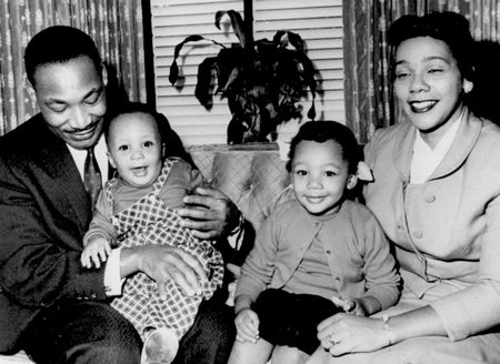 Martin Luther King Jr Family