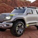 Mercedes-Benz Ener-G-Force Concept, um off-road animal