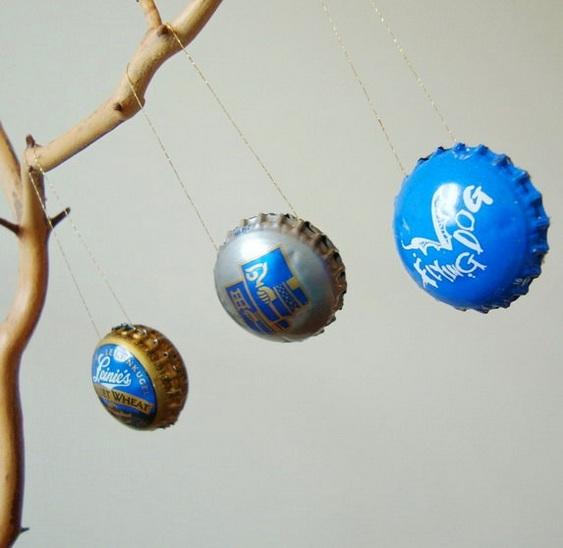 Bola de Natal Ecológica