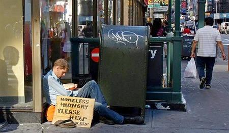 Mendigos nos EUA