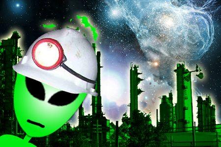 Exploração de petróleo espacial
