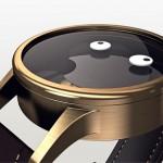 SoH – relógio estrábico mostra horas e minutos com olhos