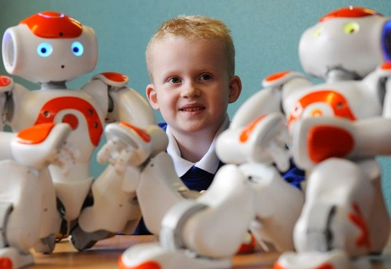 Autistas - interação com robôs