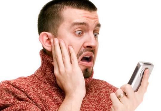 Assédio por celular