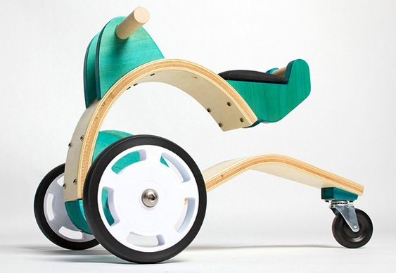 Triciclo infantil artesanal