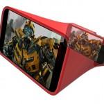 Lente amplia visor do iPhone para ver filmes em tela grande
