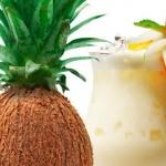 Inventado o Abacaxoco, a fruta que é meio abacaxi e meio coco
