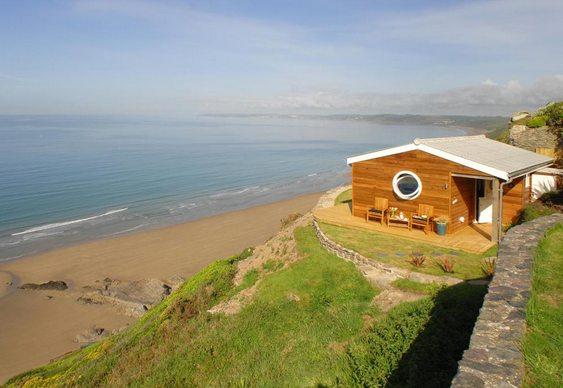 Casa na beira da praia