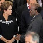 Imagem da Semana: Dilma Rousseff 'fuzila' Joaquim Barbosa