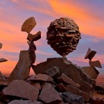 A natureza efêmera das esculturas de pedras em equilíbrio