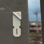 Nova fechadura 'porta-cadeado' com movimento em 45 graus