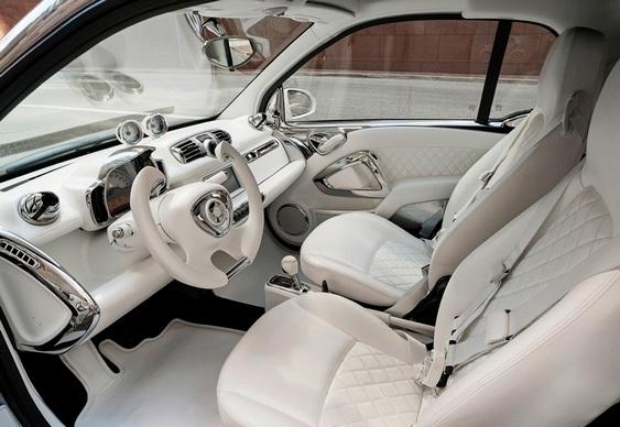 Interior do carro Smart for Jeremy