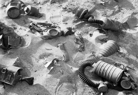 Cobaias humanas em guerra química
