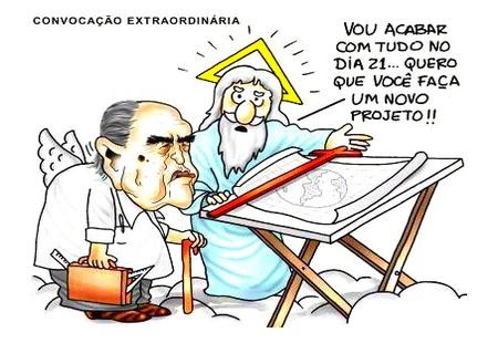Charge - Oscar Niemeyer 21/12/012