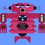 O robô personalizado com suas informações nas redes sociais
