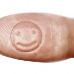 Smileys para estampar nos dedos e estragar impressões digitais