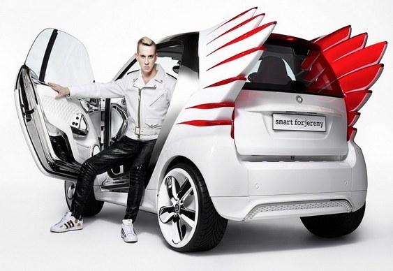Carro Smart ForTwo branco