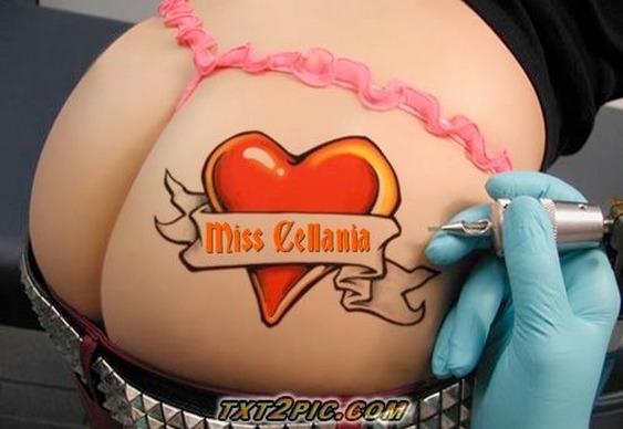 Bunda tatuada