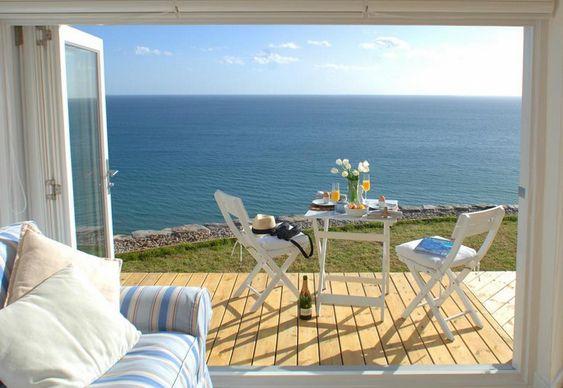 Casa com vista para o mar