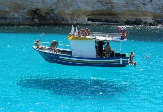 Levitação de barco