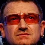 Fotofobia degenerativa piora visão de Bono Vox, vocalista do U2