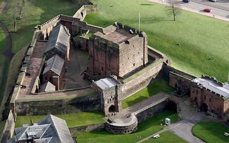 Castelo Medieval em Carlisle