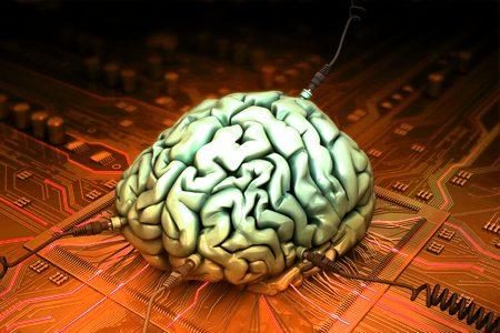 Placa de rede cerebral transistorizada