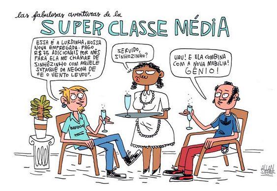 Charge - Classe Média