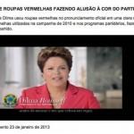PSDB dá chilique com modelito usado pela presidenta Dilma