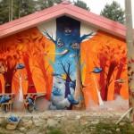 Grafiteiro DMS é um dos maiores nomes da Bienal do Graffiti em SP