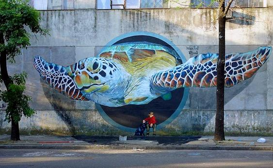 Grafite bichos