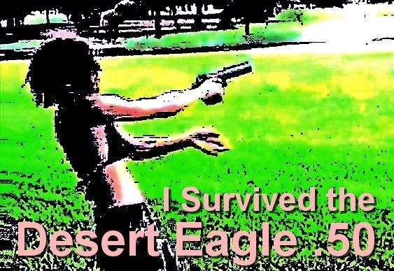 Sobreviveu a um tiro de revólver