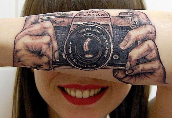 Ilusão de Ótica - Tattoo