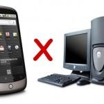 Previsão para 2013: smartphones mais usados que computadores