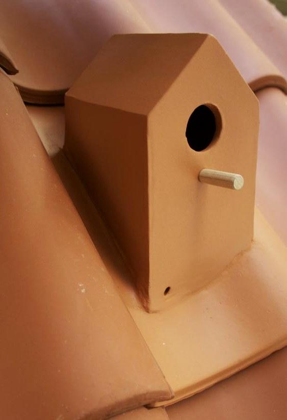 Telha casinha de passarinho