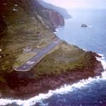 Um dos aeroportos mais sinistros do mundo na ilha de Saba