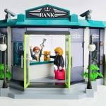 Brinquedo da Playmobil ensina criança a praticar assalto a banco