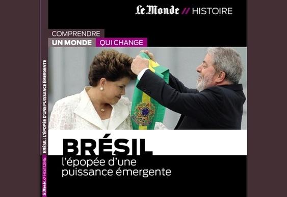 Lula e Dilma na capa do Le Monde
