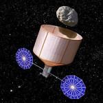 Uma nave espacial para encaçapar os meteoros perigosos